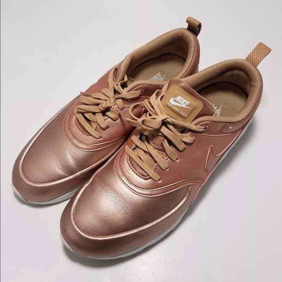 Details about Nike Air Max Thea Metallic Rose Gold
